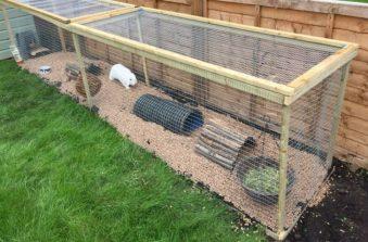 Zelf konijnenhok maken